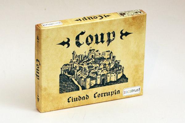 Portada del Coup (zacatrus)